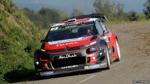 Frustrated Paddon sixth at Rally of France