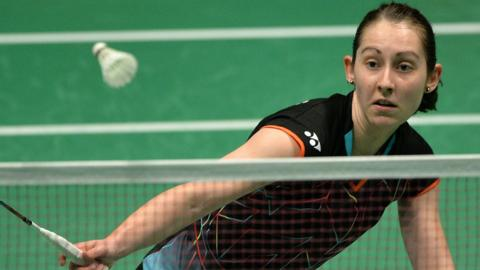 Kirsty Gilmour in action at the recent European Championships