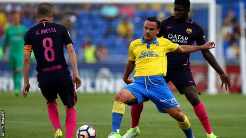 Swansea City Close In On £10m Midfielder Roque Mesa, From Las Palmas