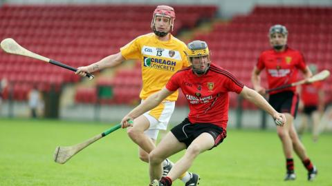 Antrim beat Down by a single point in the Ulster Senior Hurling final in July
