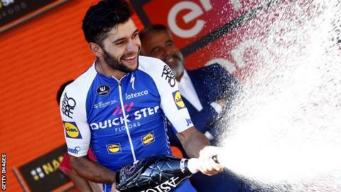 Victorious Fernando Gaviria avoids drama in the Tour of Britain