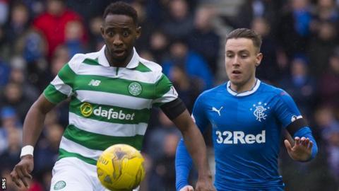 Celtic have won all three matches against Rangers so far this season