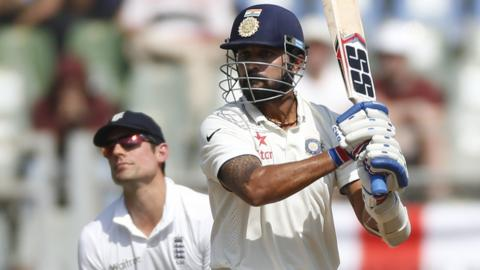 India's Vijay frustrates England