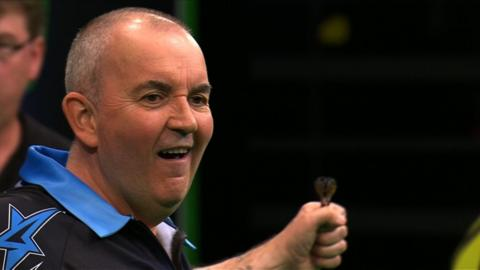 Phil Taylor wins the inaugural Champions League of Darts