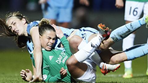 Manchester City women v Fortuna Hjorring