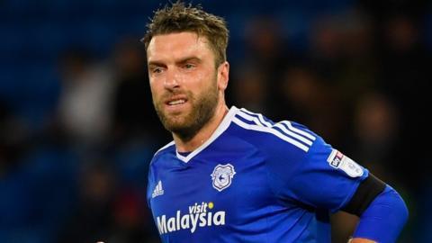 Rickie Lambert of Cardiff City