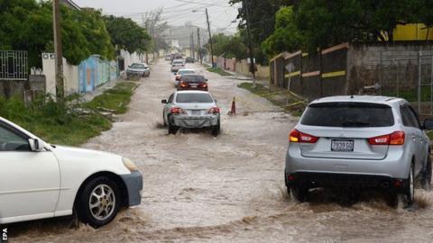 Floods in Kingston, Jamaica