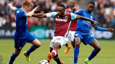 Slaven Bilic: 'Michail Antonio likely to withdraw from England squad'