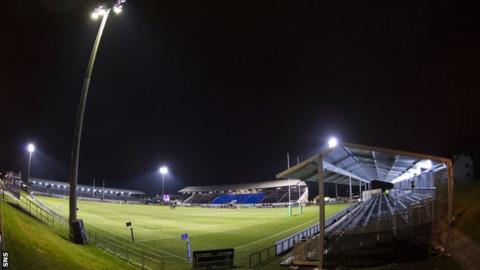 Myreside stadium, Edinburgh