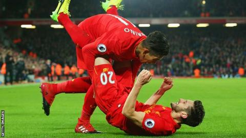 Philippe Coutinho, a Match Time Doubt, Gives Gutsy Performance in Liverpool Win