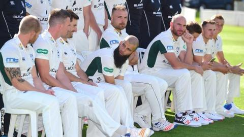 Worcestershire's main overseas player at New Road this summer will be Australian international fast bowler John Hastings (fourth from right)
