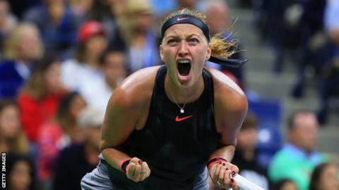 US Open: Petra Kvitova stuns Garbine Muguruza at US Open