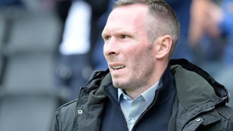 Oxford United head coach Michael Appleton