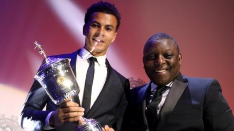 Dele Alli (left) and Garth Crooks