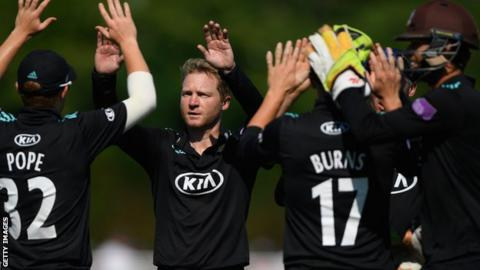 Surrey and Nottinghamshire meet in Royal London One-Day Cup final
