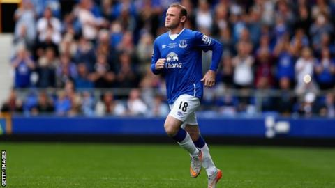 Koeman open to Rooney making Everton return