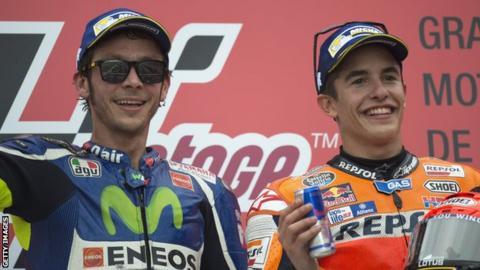 Rossi and Marquez