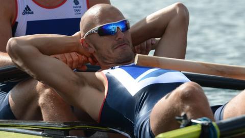 Great Britain rower Moe Sbihi