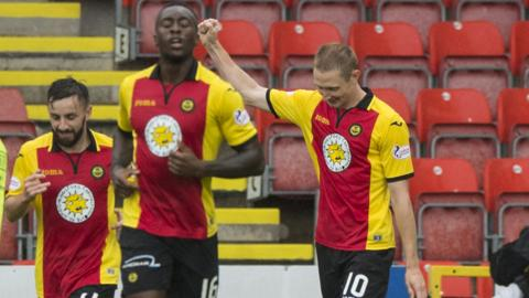 Thistle have only won once in eight league outings this season