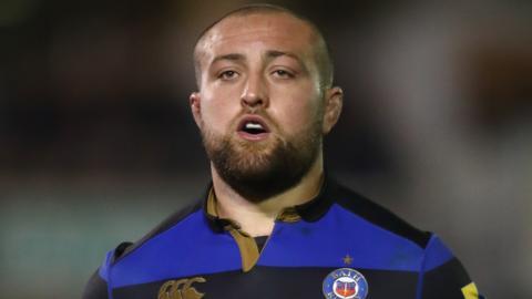 Bath Rugby hooker Tom Dunn