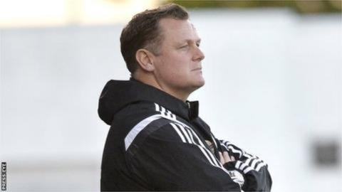 NI Under-21 manager Jim Magilton