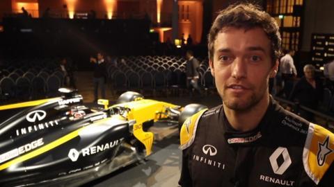 Renault driver Jolyon Palmer