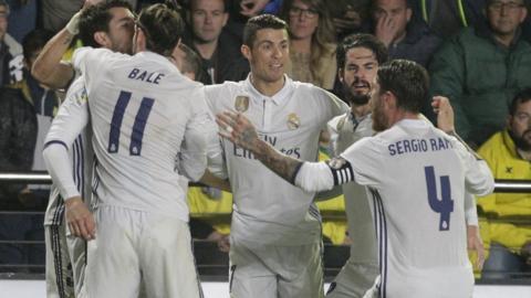 Real Madrid striker Cristiano Ronaldo