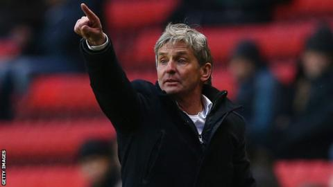 Charlton manager Jose Riga