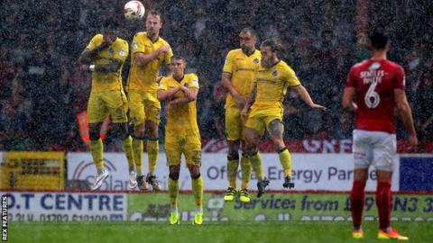 Swindon Town v Bristol Rovers