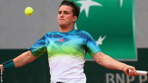 Britain's Gordon Reid at the French Open