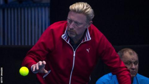 Boris Becker given role by German Tennis Federation following bankruptcy