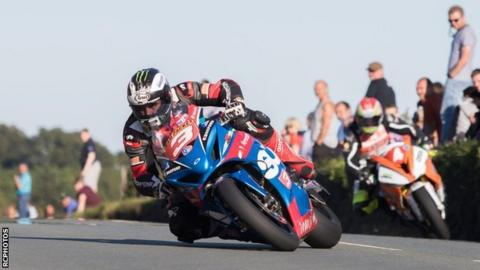 Michael Dunlop and Dan Kneen