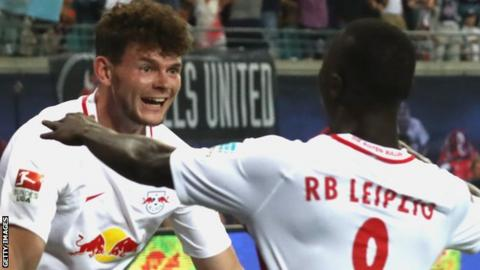 West Brom sign RB Leipzig winger Burke