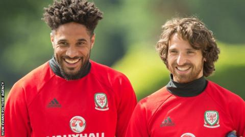 Ashley Williams and Joe Allen
