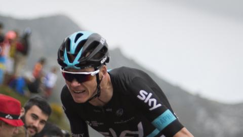chris froome competes at the vuelta a espana