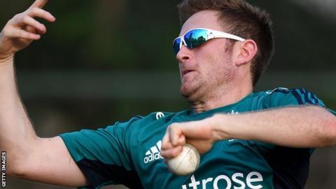 Hampshire and England all-rounder Liam Dawson