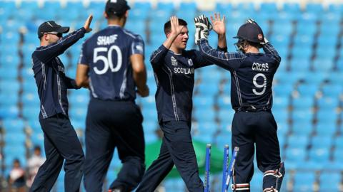 Scotland are below Hong Kong in the associate ODI ranking table