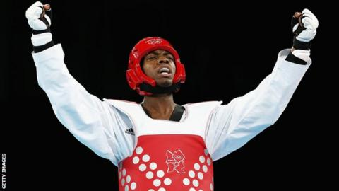 Lutalo Muhammad denied taekwondo gold by last second head kick