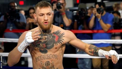 McGregor aiming to 'put away' Mayweather in 10 seconds