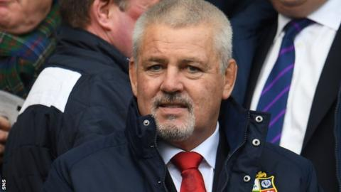 Rowntree to complete Gatland's Lions team