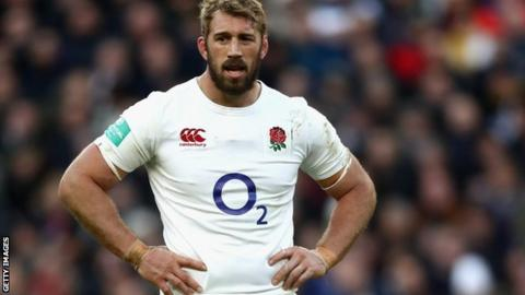 England's Chris Robshaw could miss Six Nations with shoulder injury