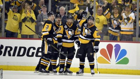 Penguin's prepare to take home Lord Stanley; Fluery or Murray?