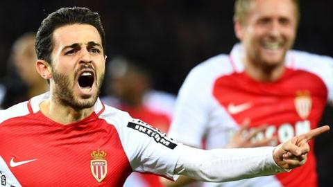 Paris Saint Germain 1-1 Monaco
