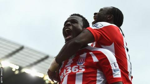 Mame Biram Diouf scored the winner in Stoke's first Premier League win at Man City last season.