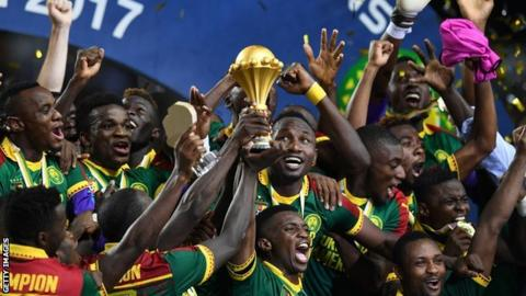 Cameroon won the 2017 Africa Cup of Nations