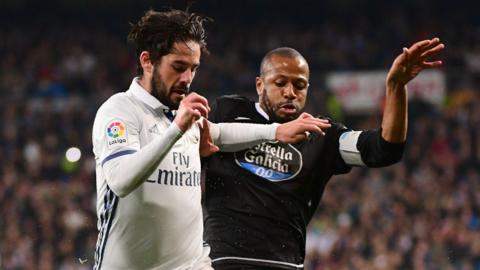 Real Madrid midfielder Isco