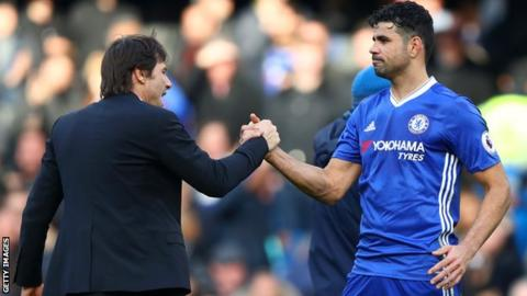 Costa eyes Atletico move after message from Conte