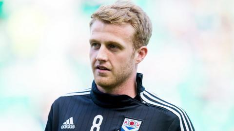 Ayr United scorer Robbie Crawford