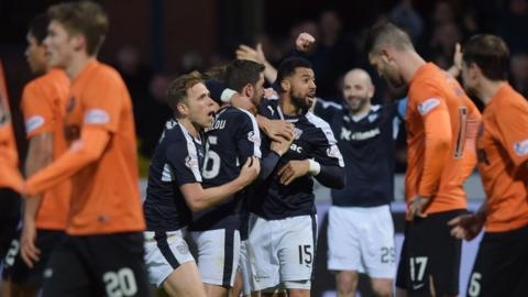 Dundee United are relegated