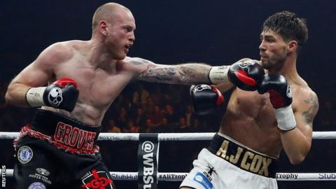 Groves knocks out Cox in Super Series to set up Eubank Jr bout